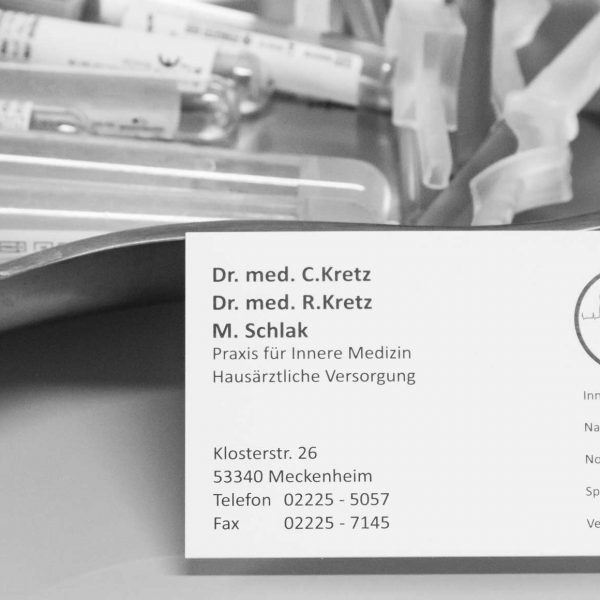 Gemeinschaftspraxis Kretz Schlak, Innere Medizin, Allgemeinmedizin Betriebsmedizin, Meckenheim