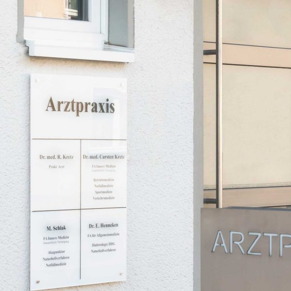 Praxis-Meckenheim Eingang